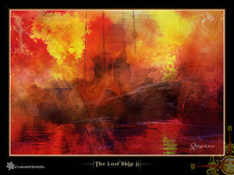 The Lost Ship II by raysheaf by ImagersFractalDDs