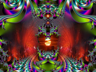 Heres Comes the Sun-Mandelfish by ImagersFractalDDs