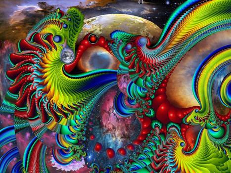 Space Odyssey by MandelFish