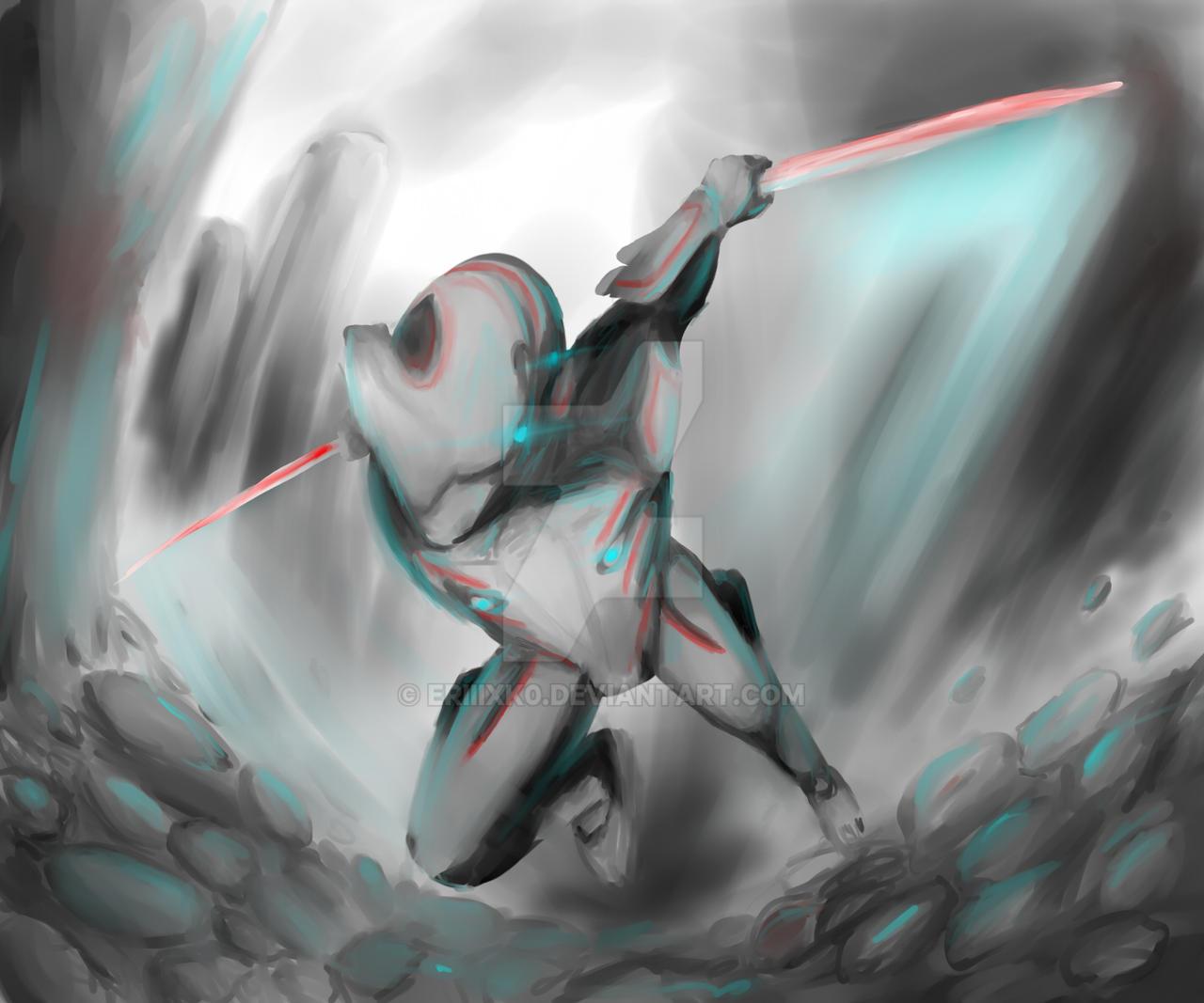 Excalibur Warframe! by ERIIIXK0