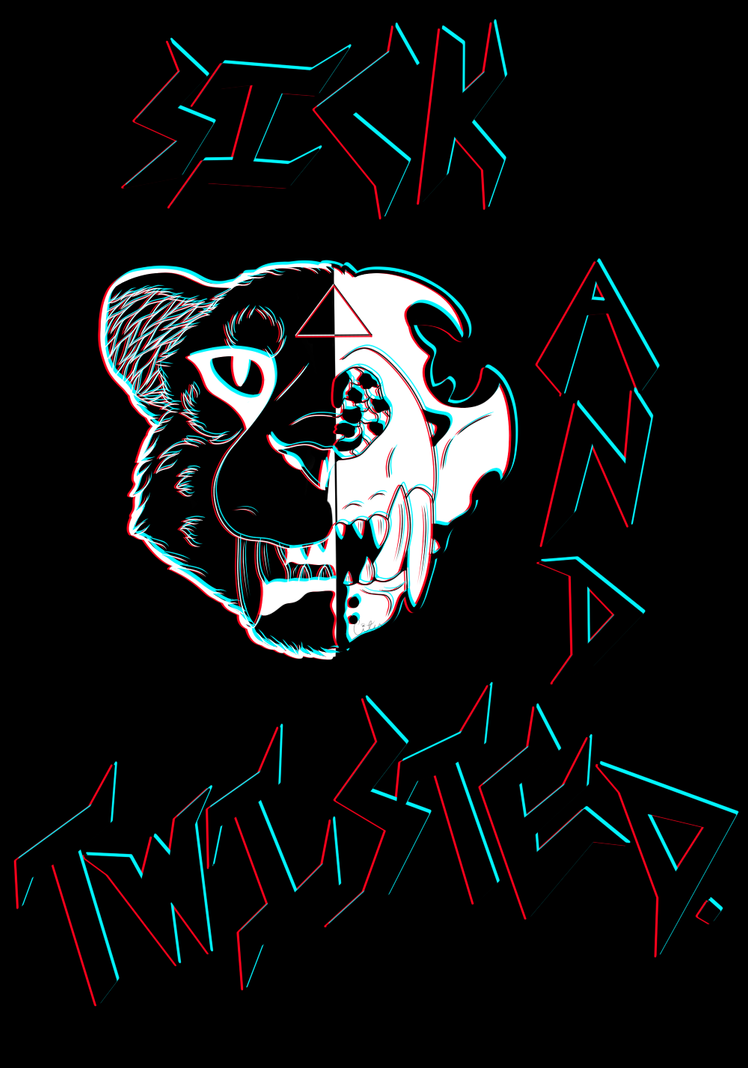 Sick and Twisted black by CityProwler
