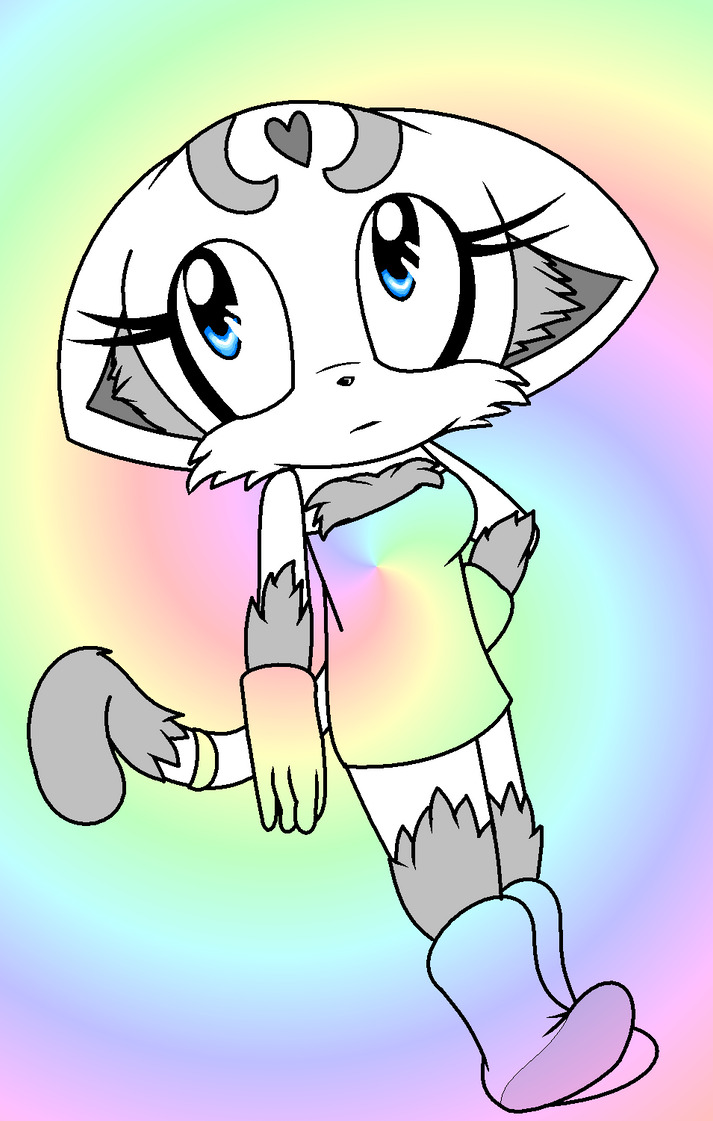 Maemi the Cat - colors by Knuckles119