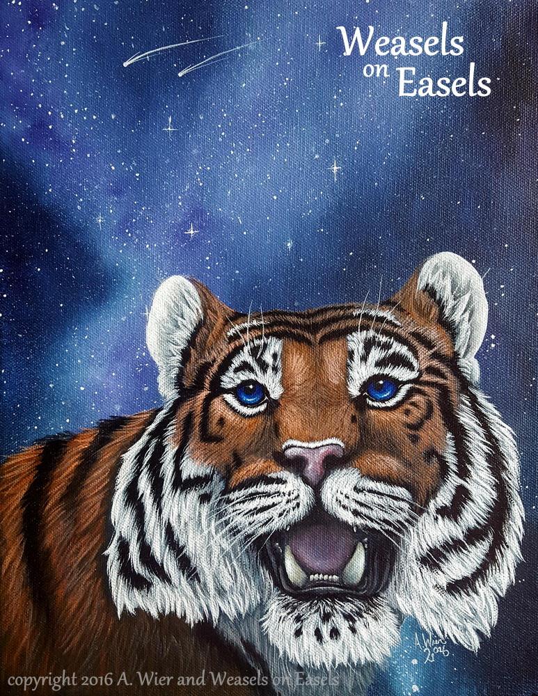 Starstruck - Weasels on Easels