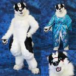 Ashaeda - Full Digitigrade Realistic Fursuit