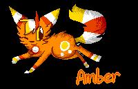 Amber Pixel by Kozafire