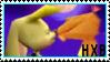 Hunter X Bianca Stamp by Jadeita