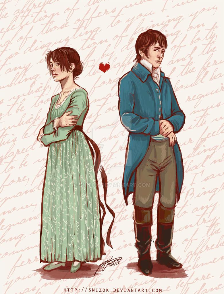 Lizzie and Darcy by Snizok