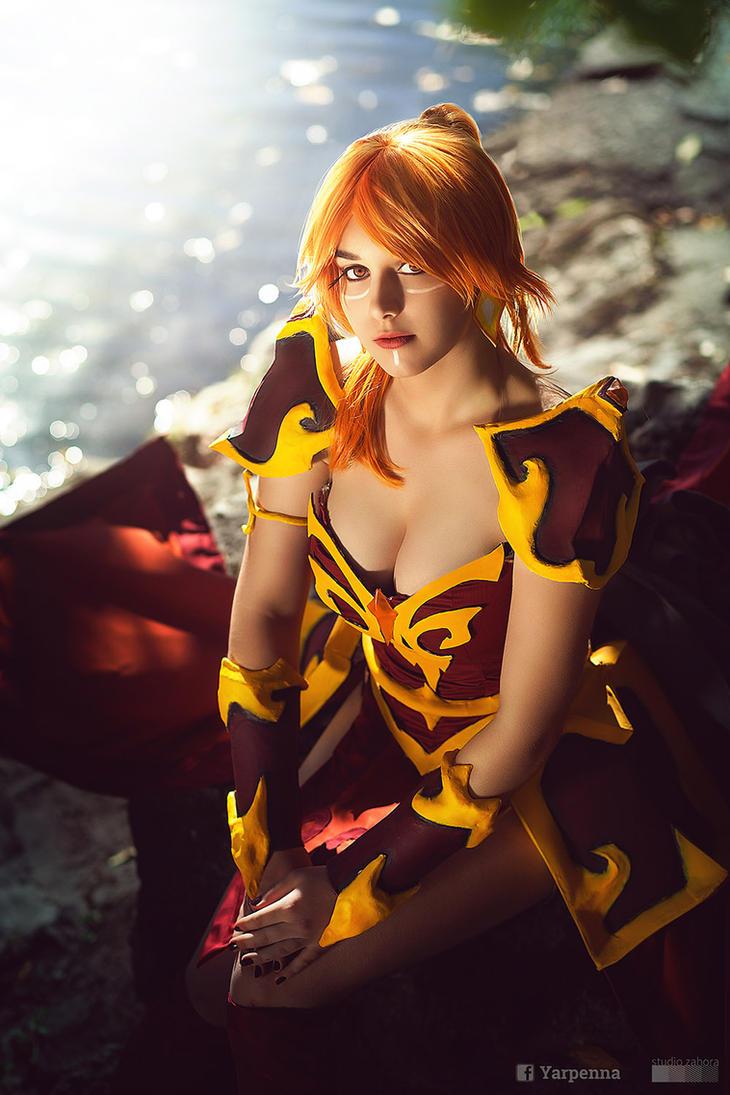 Lina cosplay