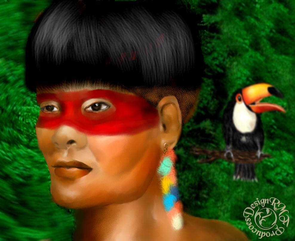 Brasilian Indian by sting45