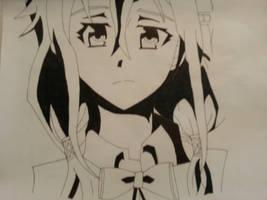 Inori- guilty crown (Manga) by KiritoGL123
