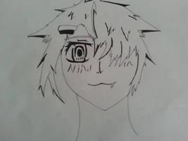 tom-boyish neko shojo OC by KiritoGL123