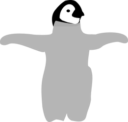 unfinished penguin vector by KiritoGL123