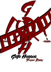 Grim Horror theme park-Logo by KiritoGL123