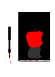 Death Note Simple Vector Img by KiritoGL123