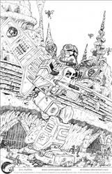 Clone Pilot-Republic Gunship by Aricosaur