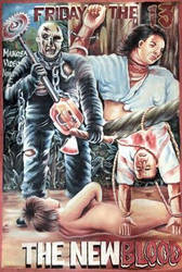 Friday The 13th Part 7 (Ghana Movie Poster) Edit 1