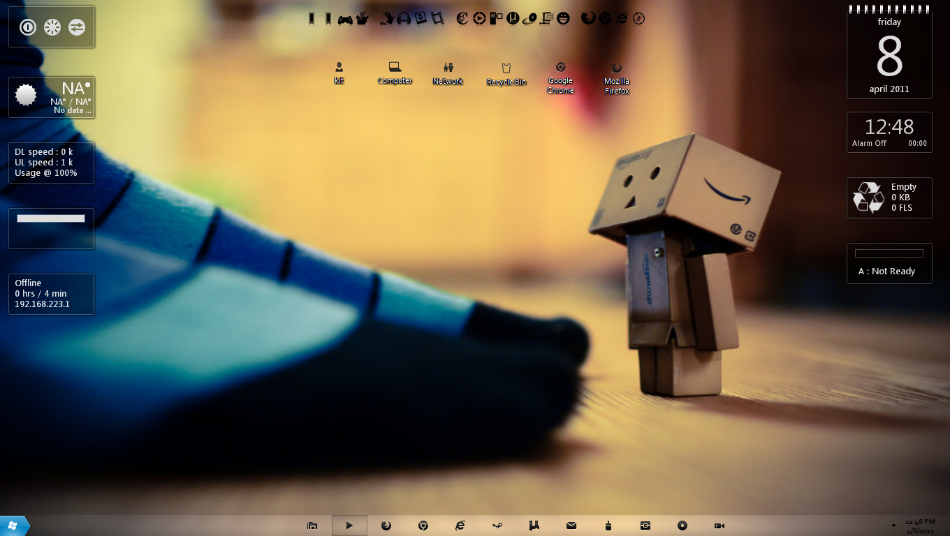 Danbo Desktop By Kit1418 On DeviantArt