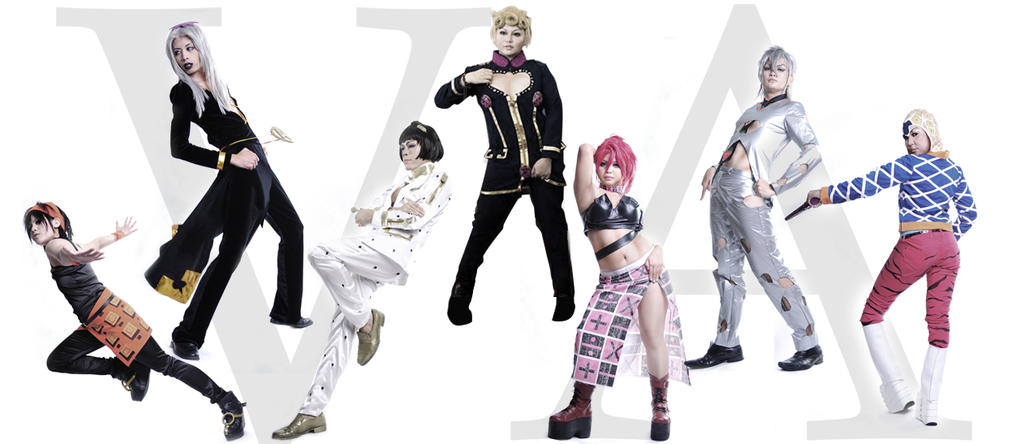 JJBA Part V: Passione, The Strongest Mafia Group By
