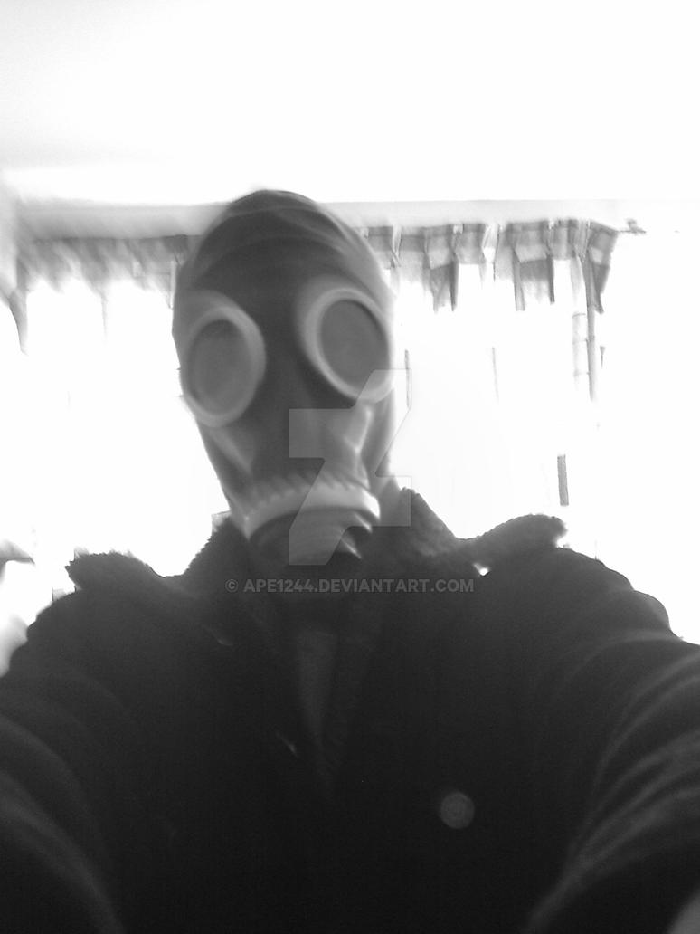 Evil Gas mask by Ape12...