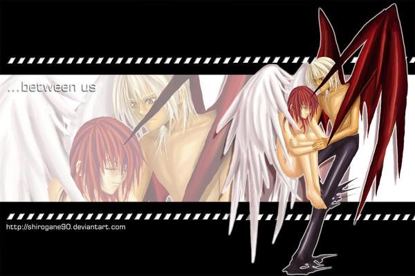 Anime Devil Angel Love | www.imgkid.com - The Image Kid ...