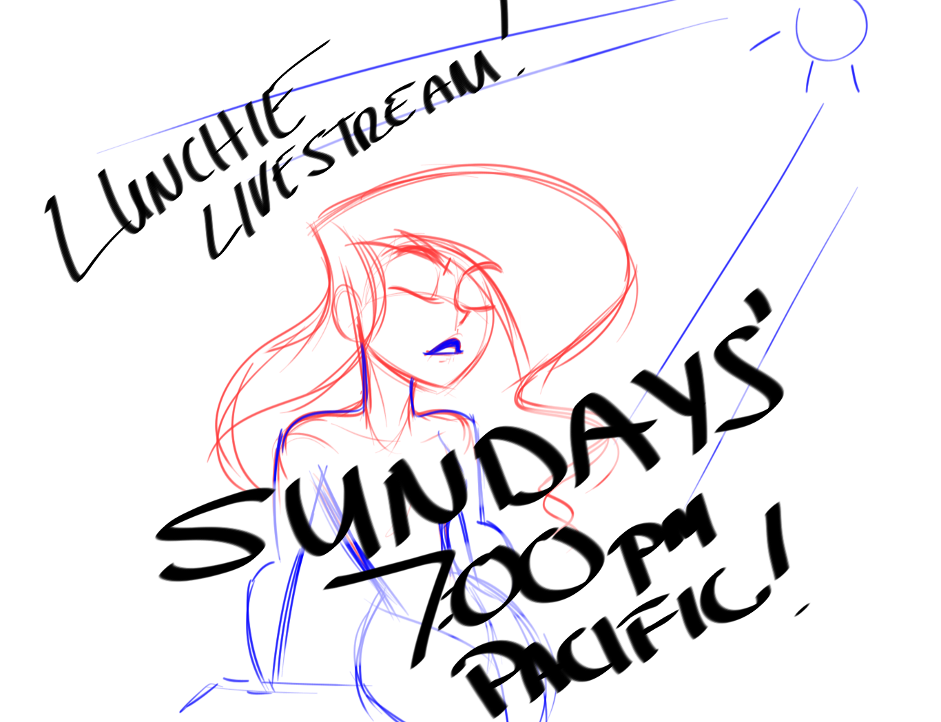 Livestream SUNDAY 7:00Pm Pacific time by isitlunchyet on ...