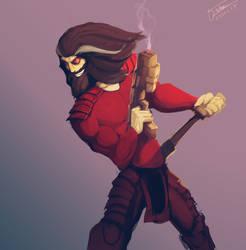 Samurai Jack - Mad Jack by ZombieCentipede