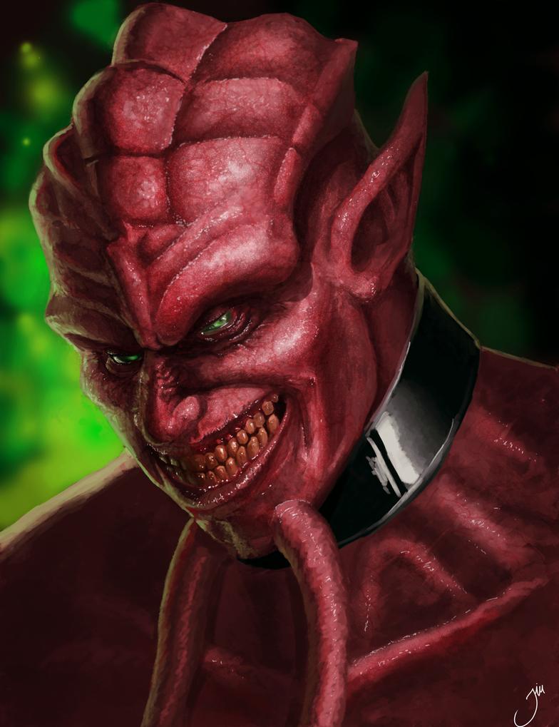 Lord Jaraxxus Portrait (2nd version) by LeeDerivedCos