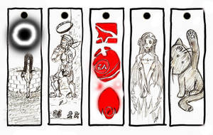 Bookmarks - Set 2 by Arcemise