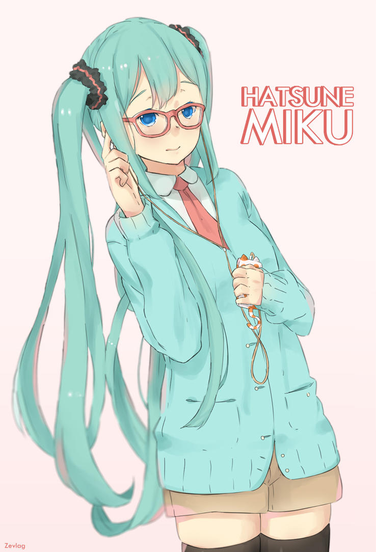 Hatsune Miku by zevlag21