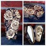 Roses coffin box