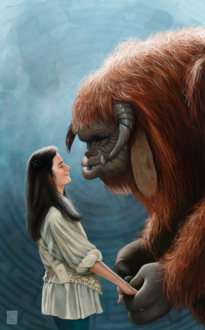 Ludo, friend... by Anto90 on DeviantArt Labyrinth Movie Wallpaper