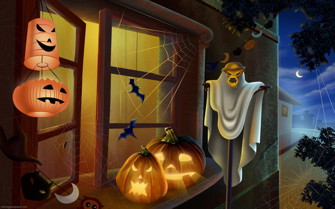 Halloween by diggwallpapers