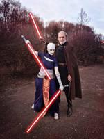 Count Dooku and Asajj Ventress