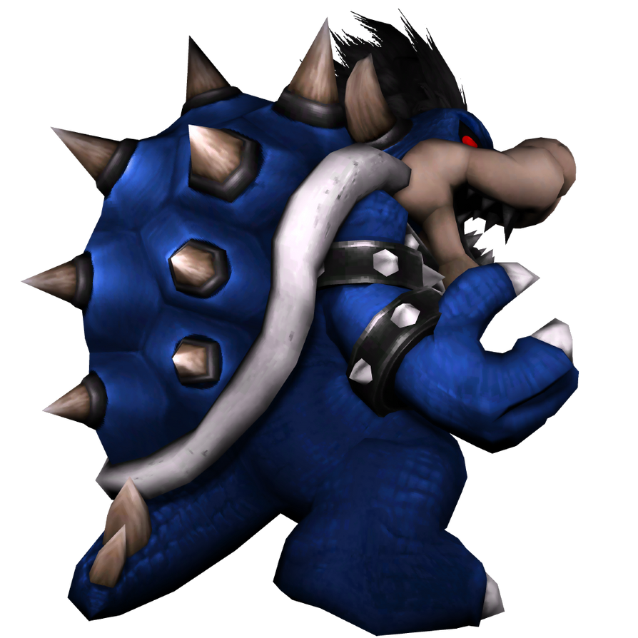 Dark Bowser Brawl Styled Render By JoeTEStrikesBack On