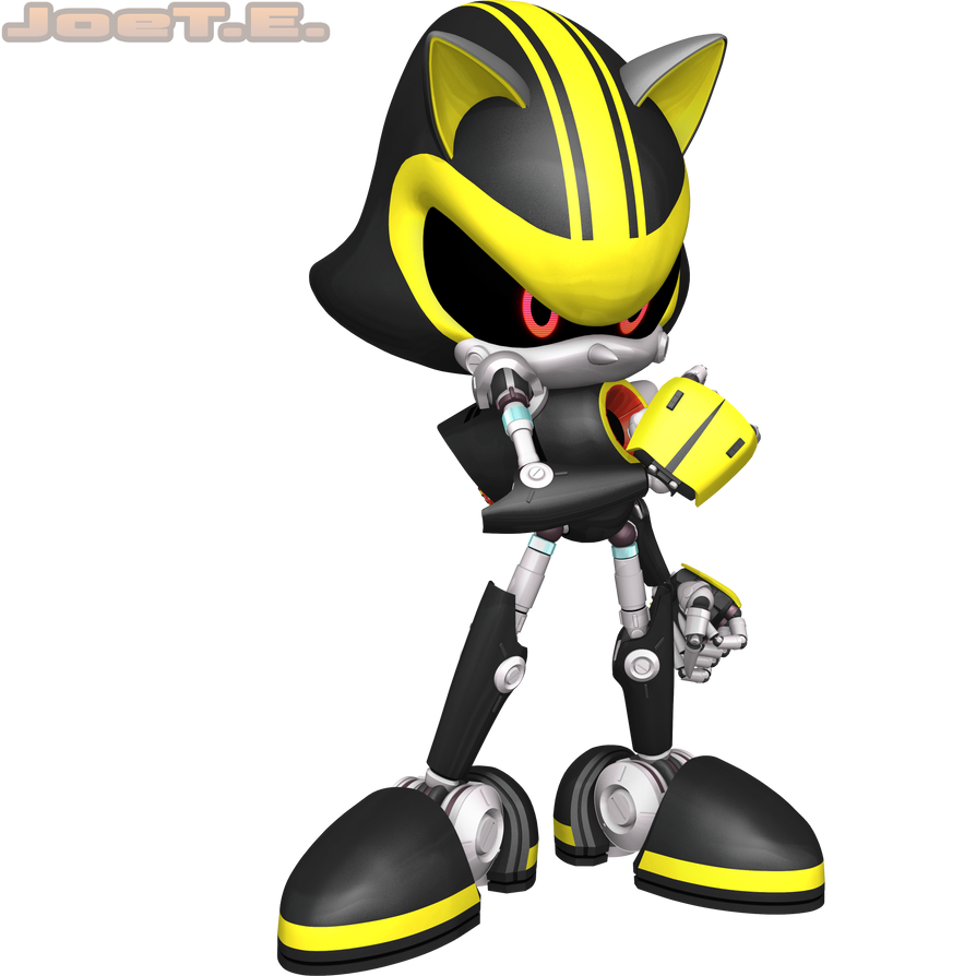 Metal Sonic 3.0... I'm Lost