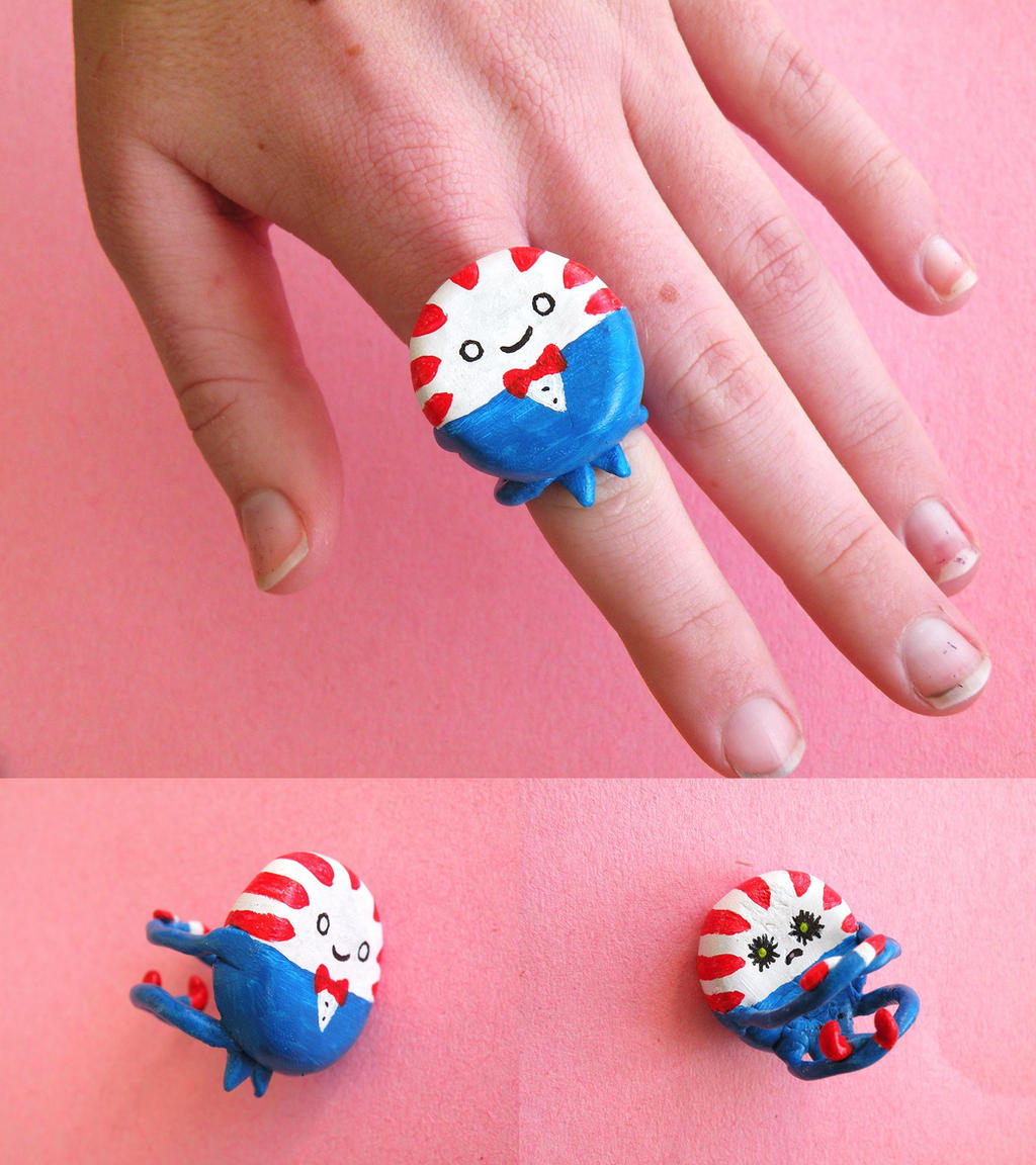 Peppermint Butler Ring by lemon-stockings