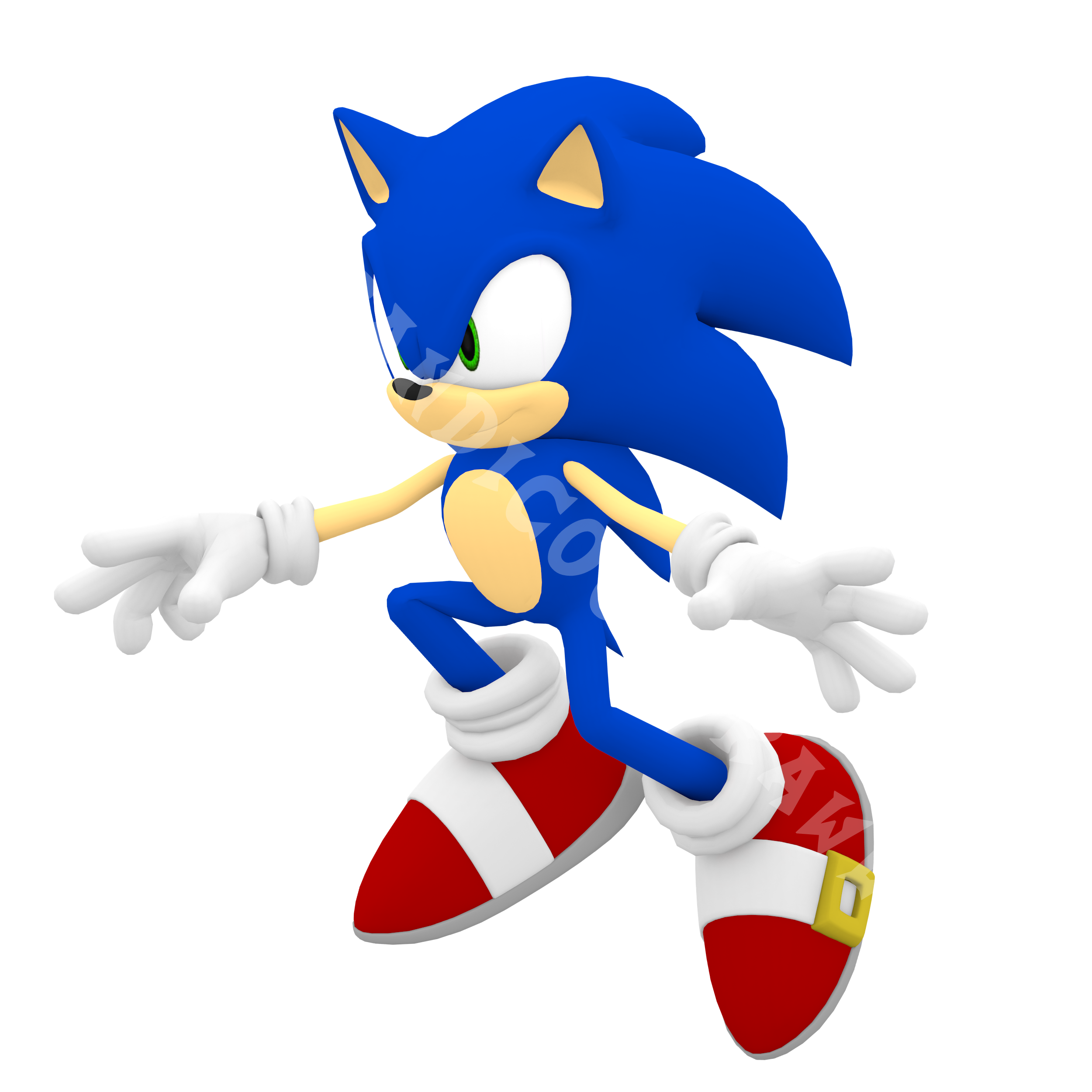 Old Modern Sonic Sonic 06 Cg Pose 1 By Bandicootbrawl96 On Deviantart