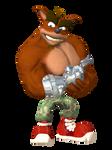 Crash Bandicoot - Crunch Classic Render
