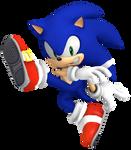 Dreamcast Sonic - Smash Bros Ultimate Pose