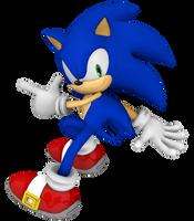 Sonic the Hedgehog - Modern Blue Blur