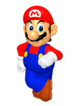 N64 Era Mario Render
