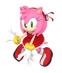 Dreamcast Amy 2021 Render