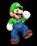 Luigi Step Up Render