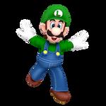 Luigi Running Render