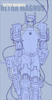 Ultra Magnus as a human