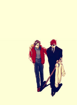 Peter and Matt