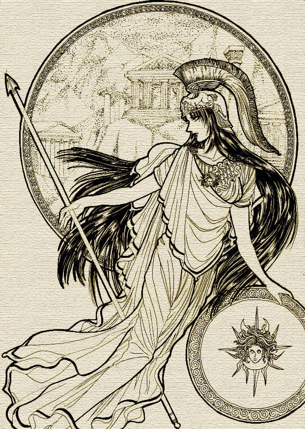 Athena by mmmmmr