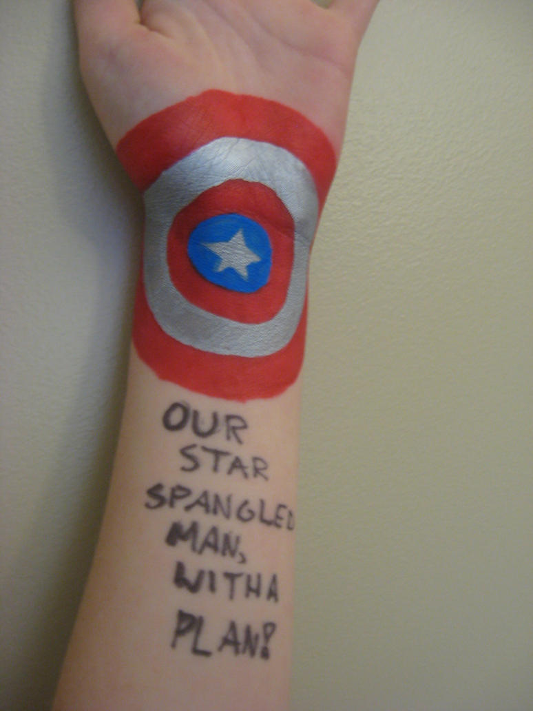 Star Spangled Man With A Plan 1 By Littleflower23 On
