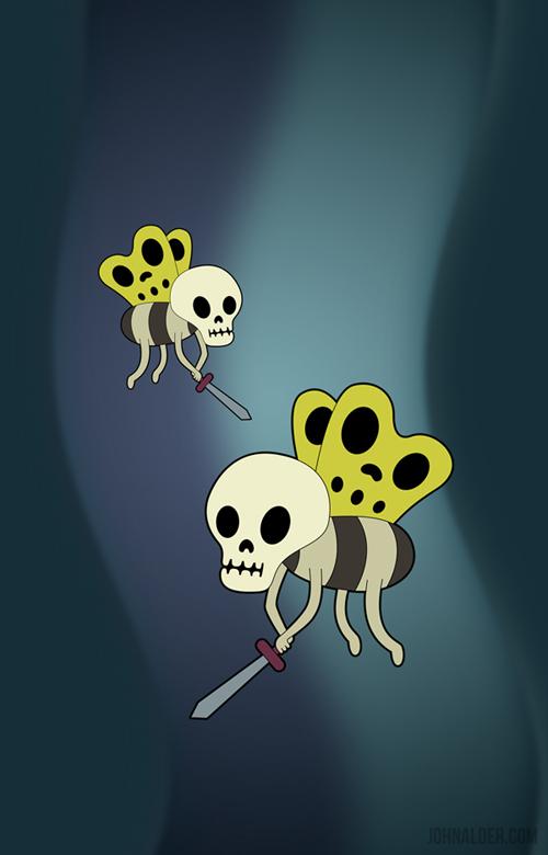 Skull Butterflies by entangle
