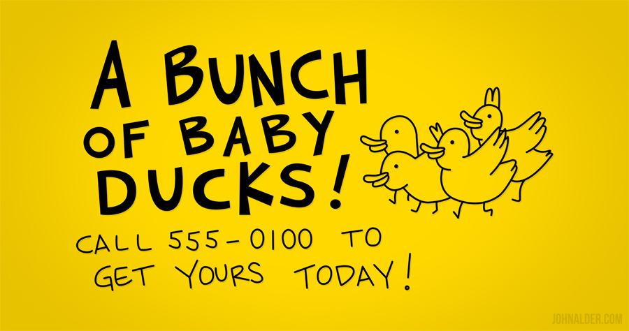 A Bunch of Baby Ducks by entangle